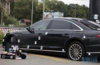 Обстріл автомобіля Шефіра кваліфікували як замах на вбивство (фоторепортаж)