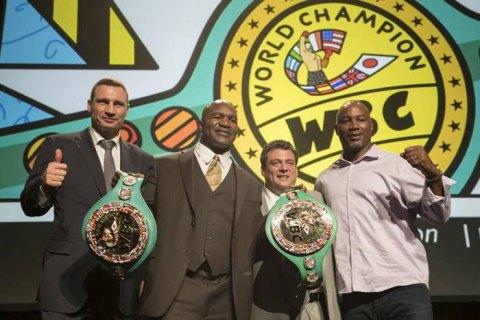 Виталия Кличко включили в Международный зал боксерской славы