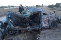 Российский гонщик, устанавливая рекорд, разбился насмерть в Крыму