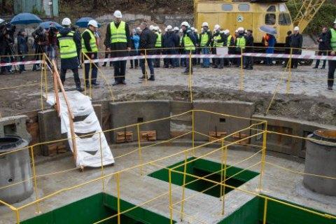 В Киеве запустили новый коллектор
