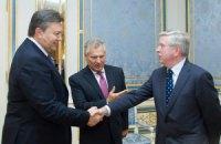 Кокс и Квасьневский провели встречу с Януковичем