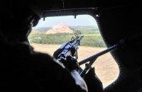На Донбассе при обстреле ранен украинский военный