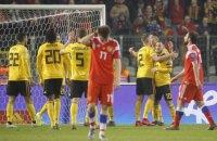 В матче отбора Евро-2020 Бельгия-Pоссия вратарь допустил результативный ляп