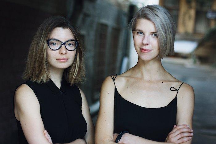 Лизавета Герман и Мария Ланько