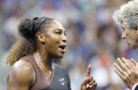 Серена Уильямс оштрафована за хамское поведение в финале US Open