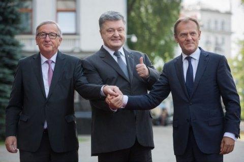 Порошенко обсудил слидерамиЕС «план Маршалла» для Украины