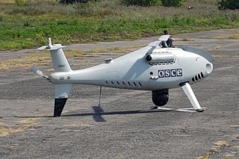 Окупаційні війська глушать безпілотники ОБСЄ на підконтрольній Україні території