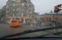 Вулиці Львова затопило після сильної зливи
