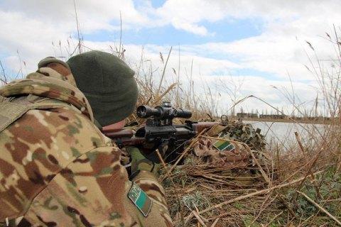 Пограничники провели антитеррористические учения на границе с оккупированным Крымом