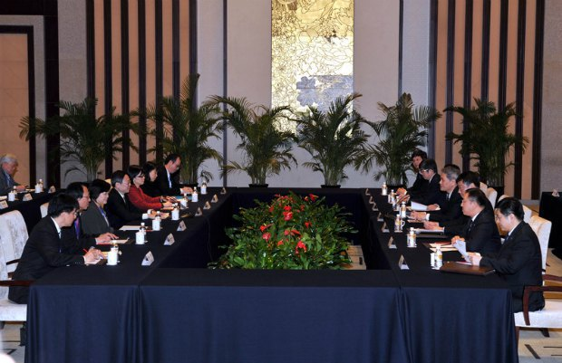 Переговоры между Тайванем и Китаем