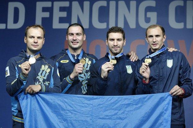 Зліва направл - Карюченко, Нікішин, Хворост, Герей
