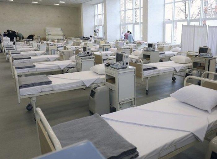 130 місць у новому відділенні хворих на Covid-19 у Лікарні швидкої допомоги у Львові.