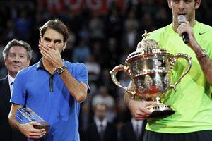 Федерер проиграл в зале впервые с 2010 г.