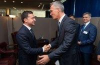 Зеленський на зустрічі зі Столтенбергом висловив сподівання на активізацію співпраці з НАТО