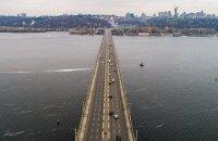 В Киеве с 10 февраля на неопределенный срок закроют две полосы на мосту Патона