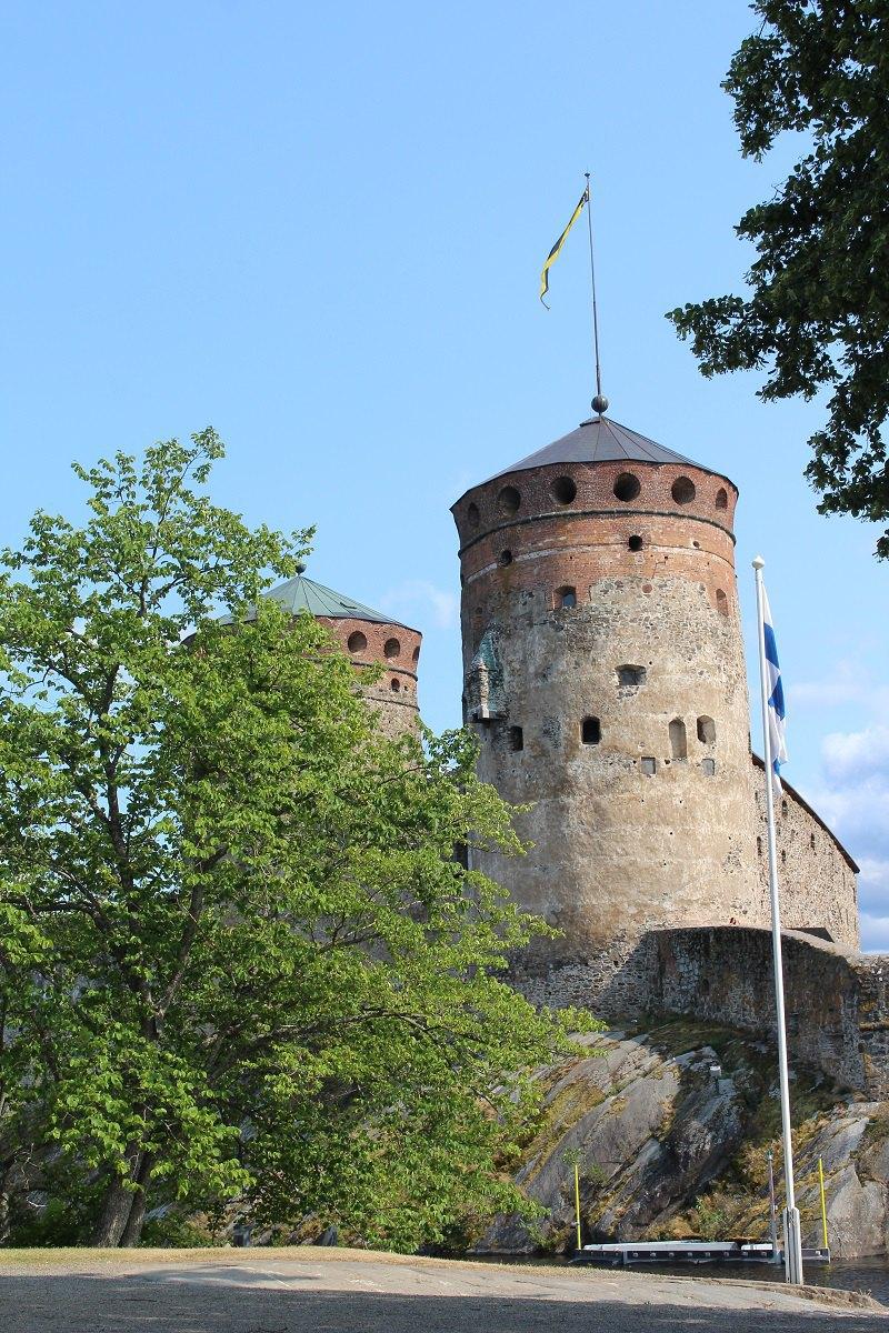 Замок Олавінлінна