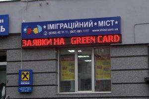 Милиция раскрыла масштабную аферу вокруг Green Card
