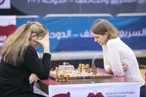 Українка Ганна Музичук стала чемпіонкою світу зі швидких шахів