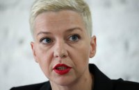 У Білорусі повідомили про викрадення Марії Колесникової (оновлено)
