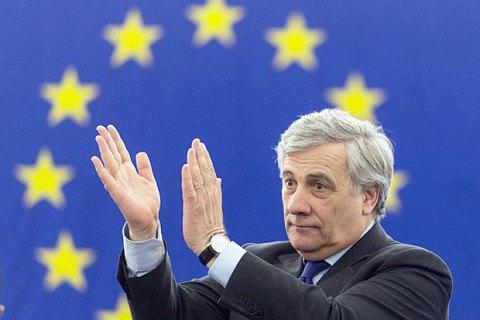 Новим головою Європарламенту обраний Антоніо Таяні