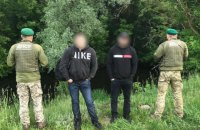 Прикордонники затримали двох росіян, які незаконно перепливли Ворсклу