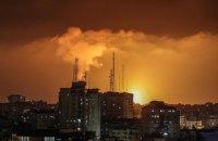 Палестина выпустила сотни ракет по Израилю