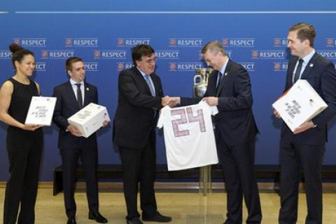 Німеччина подала заявку на проведення Євро-2024