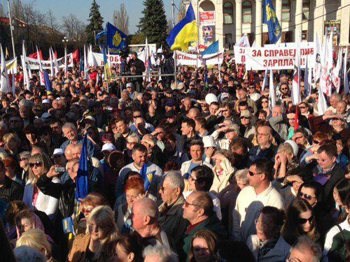 """Чернигов, """"Вставай,Украина!"""""""