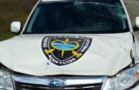 У Херсонській області з автомата розстріляли автомобілі приватної охорони