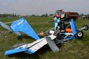 На Дніпропетровщині впав літак із 57-річним пілотом
