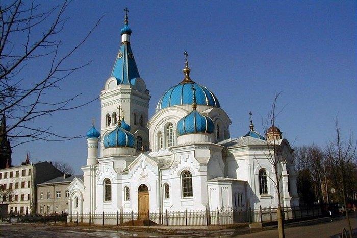 Собор Симеона и Анны Латвийской православной церкви в городе Елгава