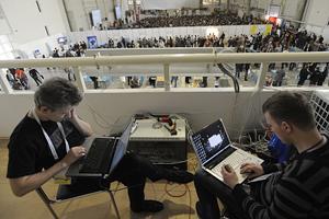 Интернет на форуме интернет-деятелей работает с перебоями