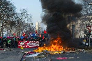 Близько 90 поліцейських поранені під час протестів біля штаб-квартири ЄЦБ
