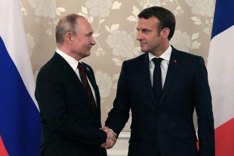 Кремль підтвердив зустріч Макрона і Путіна 19 серпня