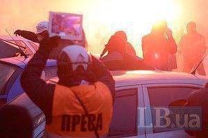 Співробітники парламентської бібліотеки: міліція цілилася в журналістів (оновлено)