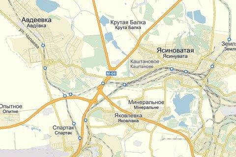 Штаб АТО отрицает наступление в районе Ясиноватской развязки (обновлено)