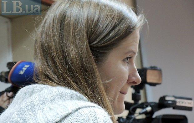 Евгения Закревская, адвокат родственников погибших на Майдане во время расстелов