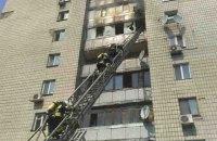 Мужчина убил двух женщин, поджег квартиру и выбросился из окна в Киеве (обновлено)