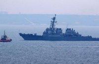 В Черное море вошел второй ракетный эсминец США