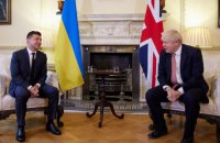 Офис президента: британские СМИ позитивно освещали визит Зеленского