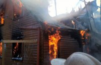"На курорте ""Драгобрат"" сгорели два корпуса отеля"