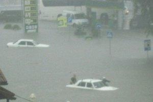 Луцк затопил сильнейший ливень