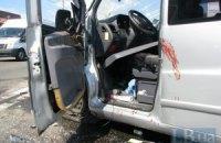 На Закарпатье микроавтобус спровоцировал масштабную аварию