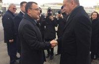 Президент Туреччини прибув з офіційним візитом до Києва (оновлено)