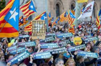 Близько 200 тисяч прихильників незалежності Каталонії пройшли маршем у Барселоні