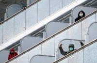 Число зараженных коронавирусом на лайнере Diamond Princess возросло до 130