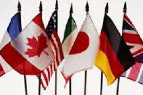 Климкин, Полторак и Грицак провели брифинг для послов стран G7 по ситуации в Крыму