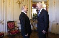 Байден передав Путіну список пов'язаних з Росією кібератак на об'єкти в США
