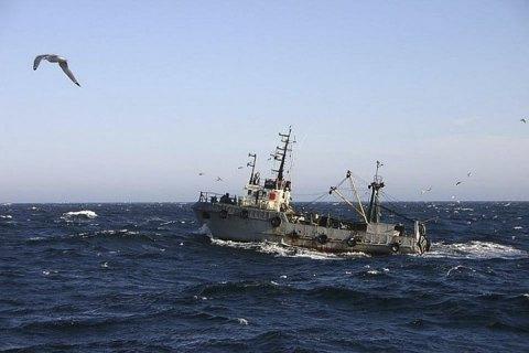 У берегов Камчатки затонуло российское судно
