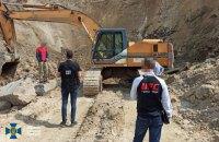 На Рівненщині СБУ викрила схему незаконного видобутку базальту на 70 млн грн